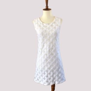 B Sharp Short Lace Shift Dress